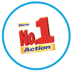 New No. 1 Action logo